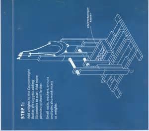 Trebuchet Plans Blueprint