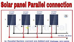 Solar Panels Parallel Connections