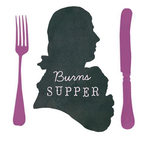 Burns Supper Menu Template by Celebrate Burns Kit 5 Printable Pdf Templates
