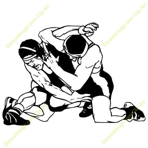 Wrestling Clipart Vector | Clipart Panda - Free Clipart Images