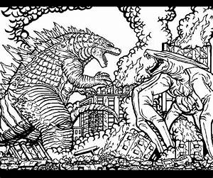 Godzilla vs MUTO (Edited) by godzillafan1954 on DeviantArt