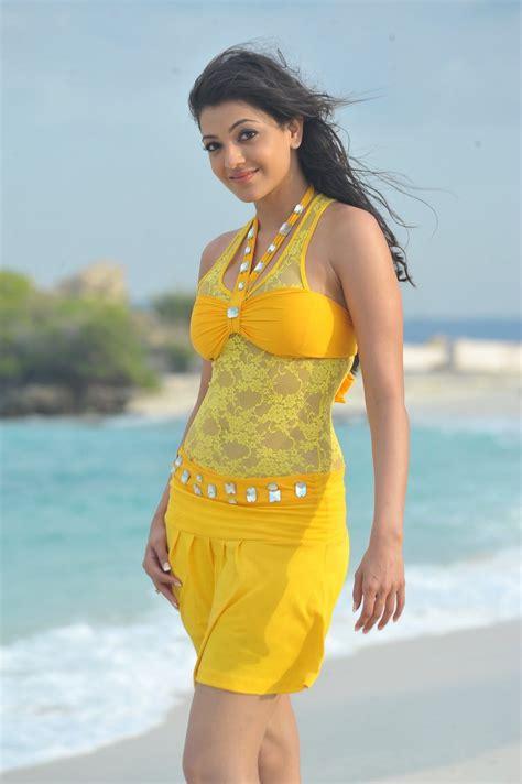 kajal aggarwal  bikini swimsuit photo image age height