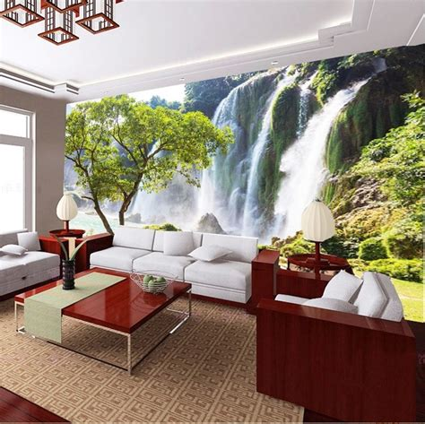 buy wholesale wall scenery wallpaper  china