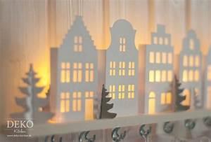 Beleuchtete Deko Häuschen : diy adventskalender basteln mit beleuchteten mini h usern deko kitchen weihnachten ~ Sanjose-hotels-ca.com Haus und Dekorationen