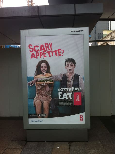 always hungry zombie days relate advertisement because theme using