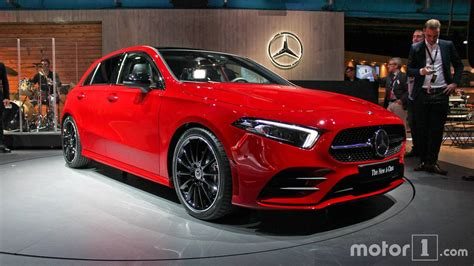 Mercedes Class Photo by 2018 Mercedes A Class Premiere In Amsterdam Motor1
