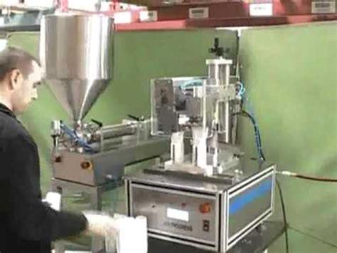 jda plastic tube filler sealer manual semi automatic tube filling  sealing machines