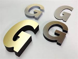 metal laminated letters project sign architectural With laminated letters