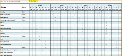 work schedule template authorizationlettersorg