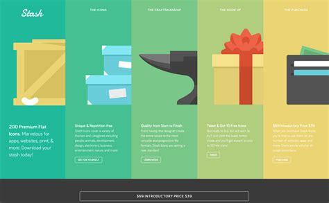 designs web design inspiration stash flat icons