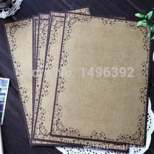8 sheets set european style vintage lace writing paper With vintage stationery letter writing kit