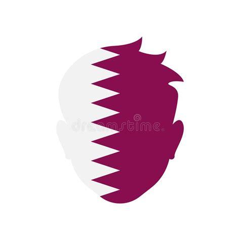 flat  doha banner stock vector illustration