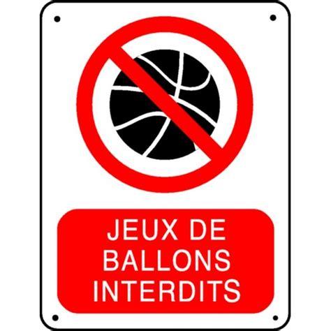 passage de cable bureau panneau jeux de ballons interdit stocksignes