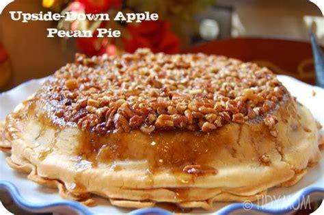 upside  apple pecan pie