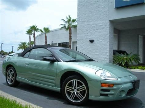 2003 Mitsubishi Eclipse Gt Specs by 2003 Mitsubishi Eclipse Spyder Gts Data Info And Specs