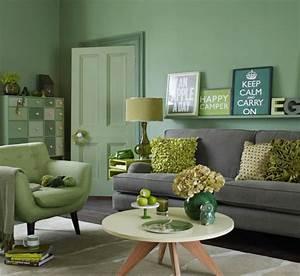 Wohnzimmer Deko Grau : wohnzimmer wohnideen mit deko in kr ftigen farben ~ Markanthonyermac.com Haus und Dekorationen