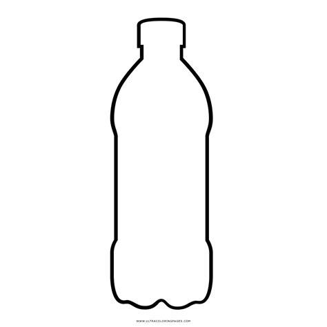 Dibujo De Botella De Plástico Para Colorear Ultra Coloring Pages
