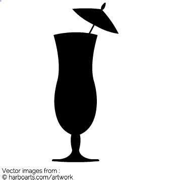 mixed drink clipart black and cocktail silhouette vector www pixshark com images