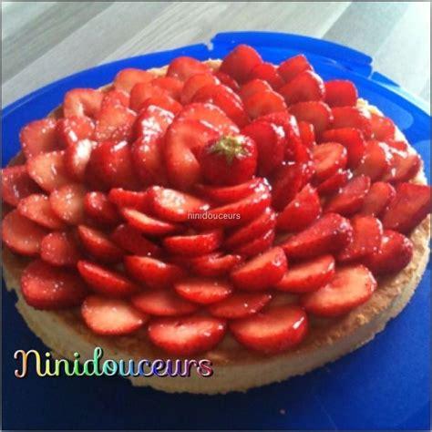 tarte aux fraises cr 232 me pistache blogs de cuisine