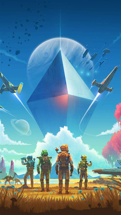 wallpaper  mans sky ultrawide poster   games