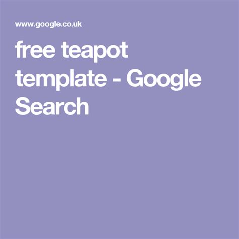teapot template google search  images