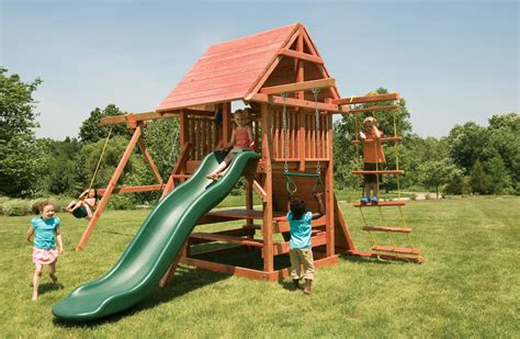 Backyard Play Set by Outdoor Play Sets With Picnic Table Opening
