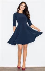robe bleu marine mariage robe patineuse bleu marine flm327bl idresstocode boutique de déshabillés et nuisettes robes