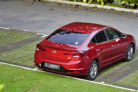 hyundai avante elite   review carbuyer singapore