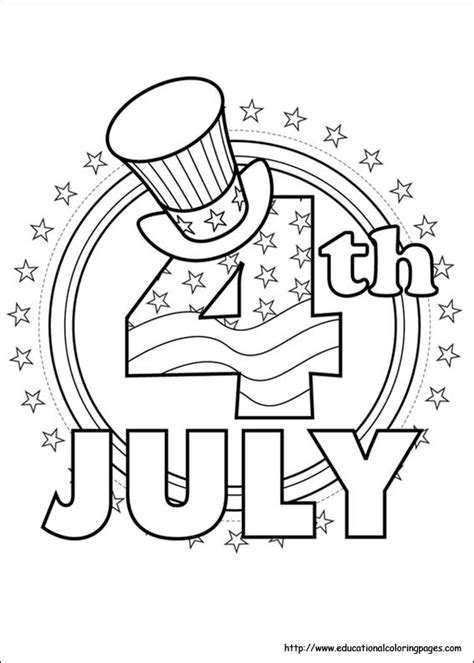 july coloring pages getcoloringpagescom