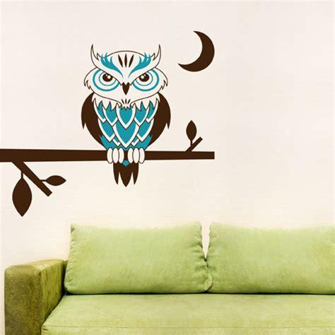 owl wall decal Home Decor