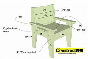 Outdoor, Chair, Plans, -, Easy-to-build, Free, Pdf