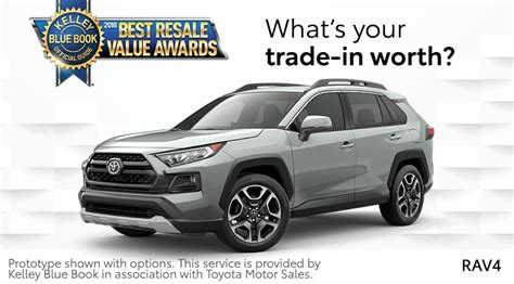 Toyota Trade In Value by Trade In Value For Toyota Local Toyota Dealer
