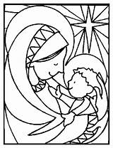 Coloring Pages Religious Christian Colouring Sheets Christmas sketch template