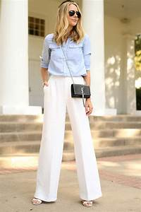 white wide leg fashion jackson