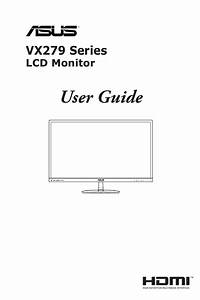 Asus Vx279 Series User Guide