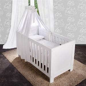 Babybett Weiss Komplett : 5 tlg bettw sche mit applikation bettset komplett babybett kinderbett 70x140 ebay ~ Indierocktalk.com Haus und Dekorationen