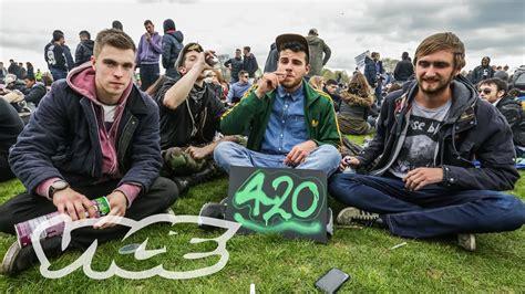Celebrating 4/20 With London's Weed Fanatics