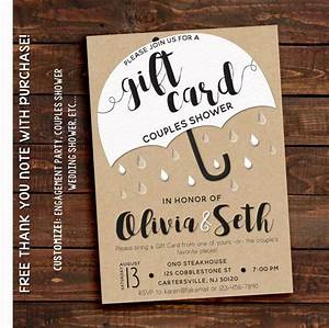 Awesome wedding shower invitations etsy ideas wedding for Wedding invitations in spanish etsy