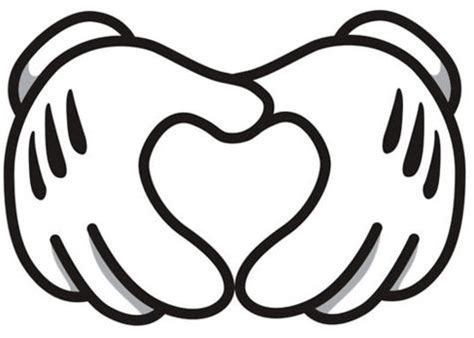 8 Best Images Of Disney Mickey Mouse Hand Printables