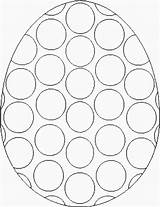 Easter Coloring Templates Egg Printable Pages Template Bingo Printables Eggs Coloringbookfun Sheets Crafts Pasen Dot Paasei Dabber Designs Colouring Hoppy sketch template