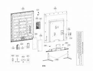 Lg 70lb7100 Lcd Television Parts