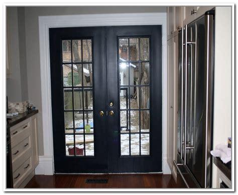 Homeofficedecoration  Black French Doors Exterior
