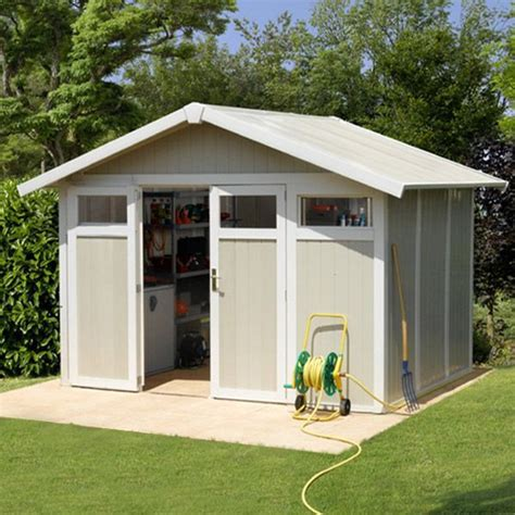 abri de jardin pvc grosfillex utility 7 53 m2 trigano store