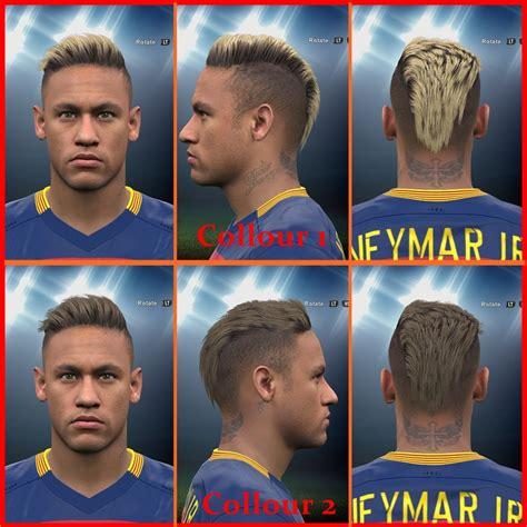 pes center pes  neymar jr  hairstyle  hair colors