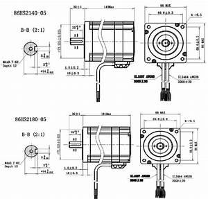 86hs 2 Phase Closed-loop Hybrid Stepper Motor