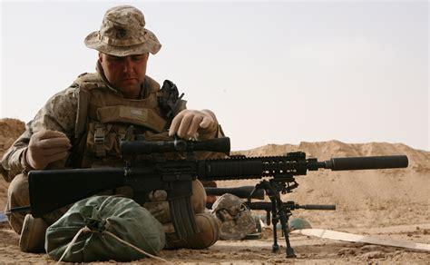 Marines Train With Designated Marksman Rifle > 2nd Marine