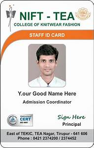 id card coimbatore ph 97905 47171 college student With staff id badge template