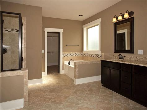 Bathroom Tile Colors by Master Bathroom Add Tile Flooring Frame The Mirror Stain