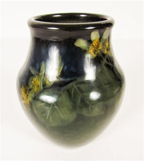 Rookwood Vase 1901 914 F With Green And Blue Glaze Lot