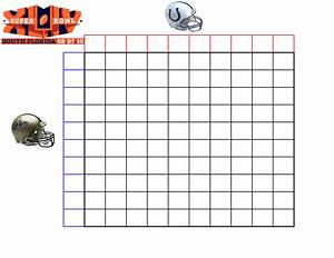 best photos of super bowl football squares template With super bowl betting pool template